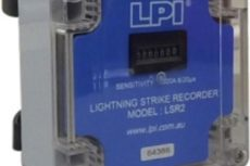 Lightning Strike Recorder